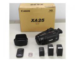 【レンタル】CANON XA25 業務用ビデオカメラ